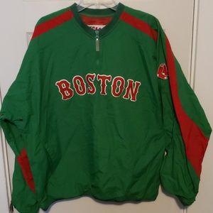 Boston Red Sox St. Patrick's Day windbreaker
